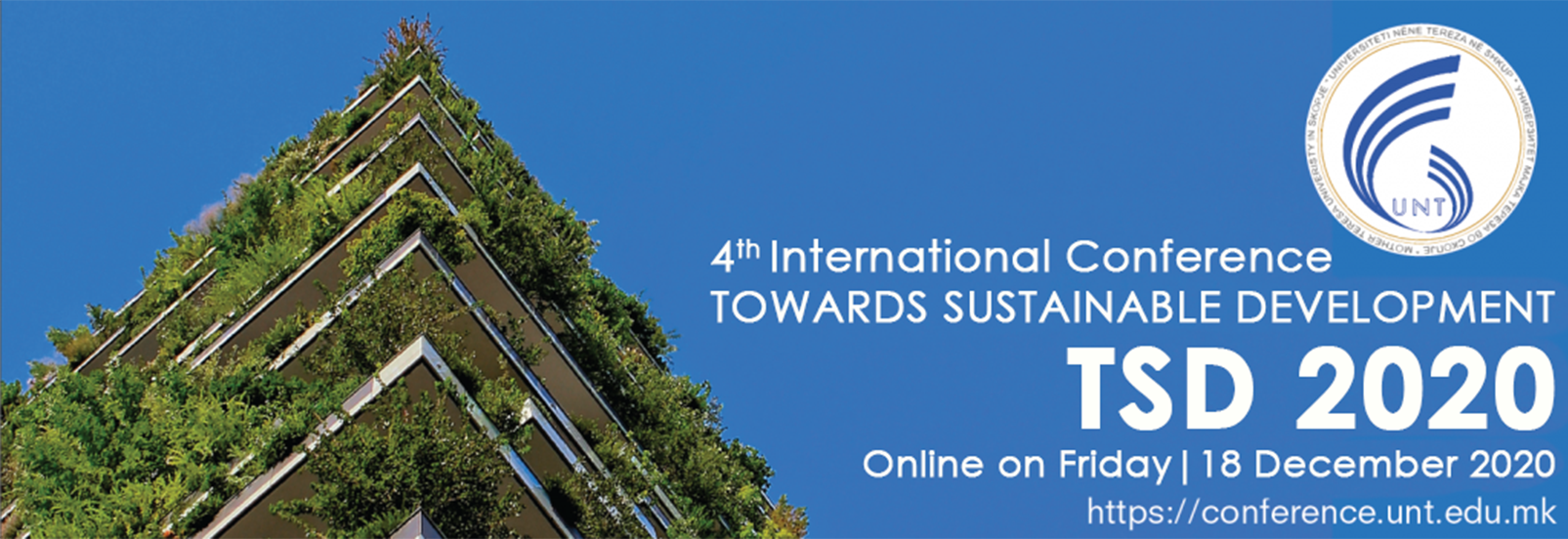 "4th International Conference ""Towards Sustainable Development"" – TSD2019"