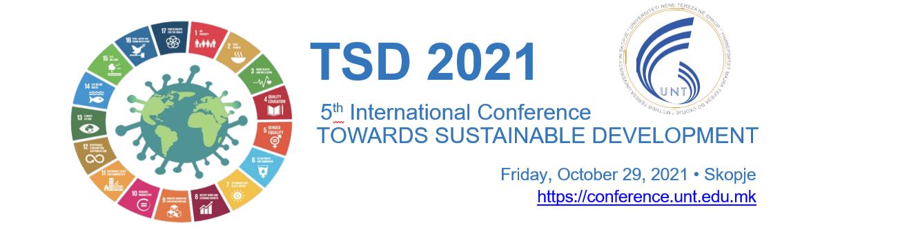 "4th International Conference ""Towards Sustainable Development"" – TSD2019"